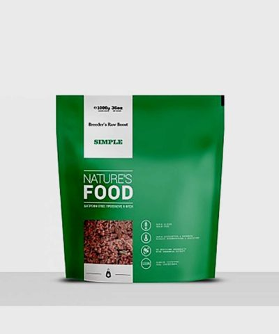 Nature's Food   Simple Breeder's Raw Boost (1kg)